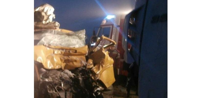 75-летний водитель микроавтобуса скончался после ДТП под Можгой