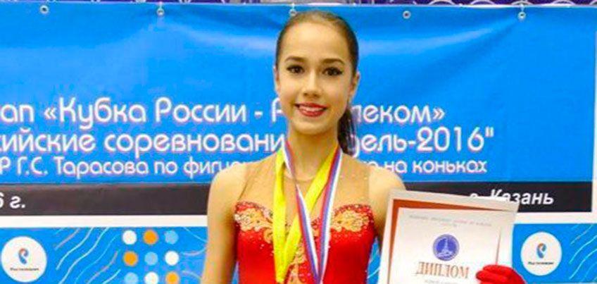 Ижевская фигуристка Алина Загитова одержала победу на этапе Кубка России