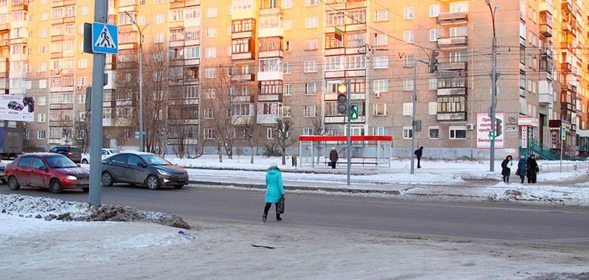 В Ижевске на переулке Октябрьском поставили светофор