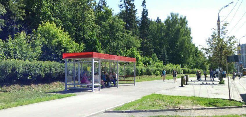Остановочный комплекс в микрорайоне «Север» в Ижевске установят в 2017 году