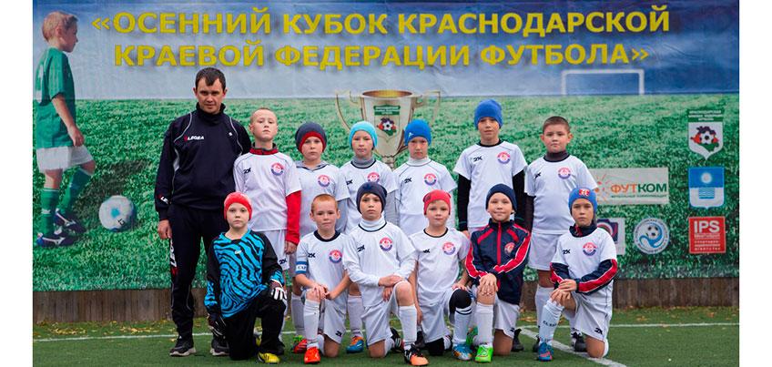 Футболисты ижевского клуба «Кристалл-2008» получили малый кубок международного футбольного фестиваля