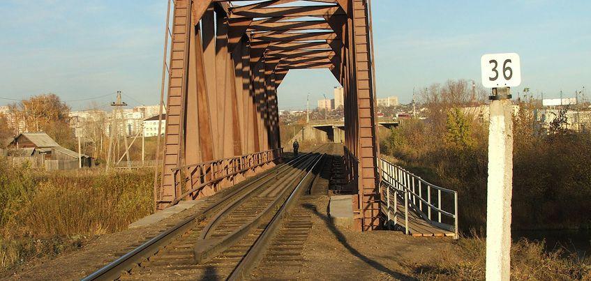 В Удмуртии отремонтировали больше 100 км железных путей