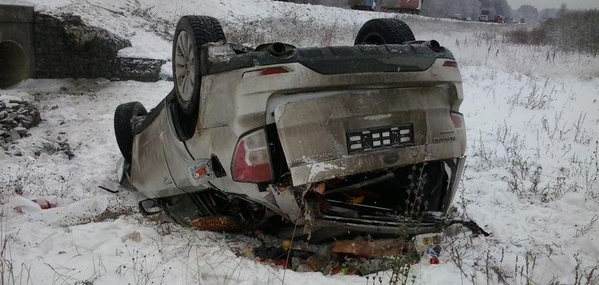 В Завьяловском районе Удмуртии в ДТП пострадала 75-летняя пенсионерка