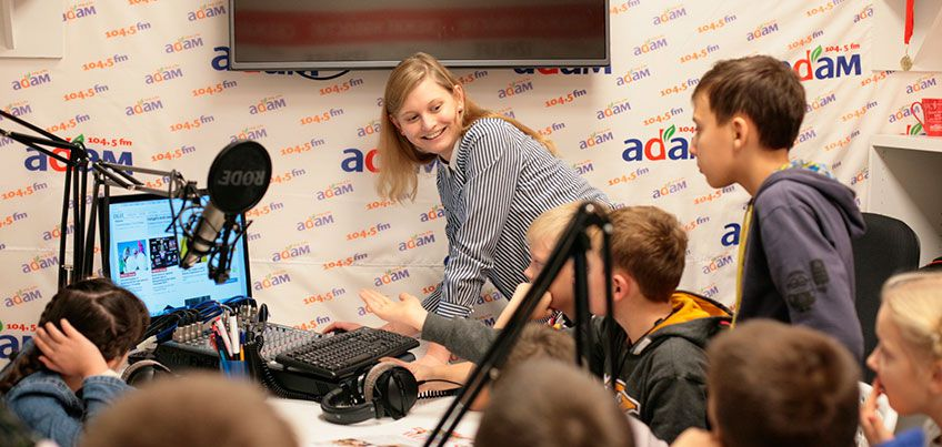 Журналисты сайта IZHLIFE и радио «Адам» провели мастер-класс в мастерской KIDO