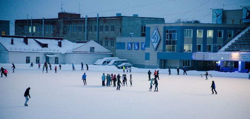 Где в Ижевске покататься на коньках?