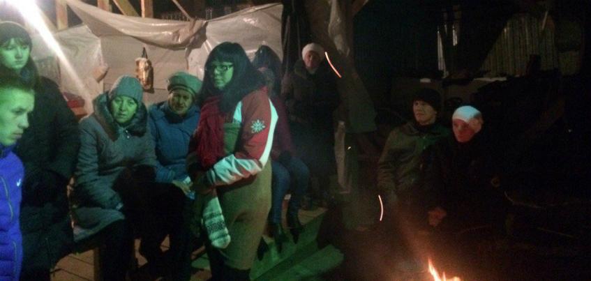 Историю дольщиков из поселка Хохряки в Удмуртии показали на федеральном канале