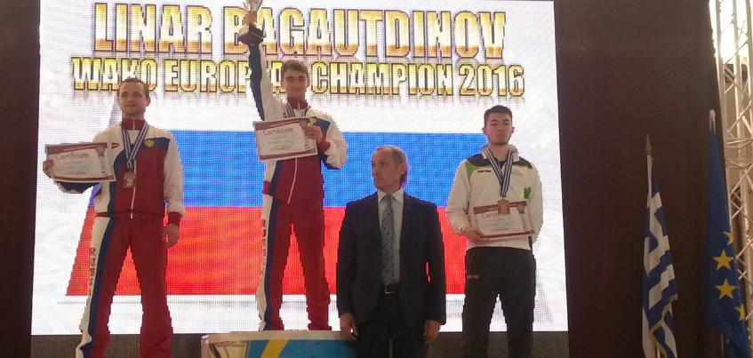 Ижевчанин Линар Багаутдинов стал Чемпионом Европы по кикбоксингу