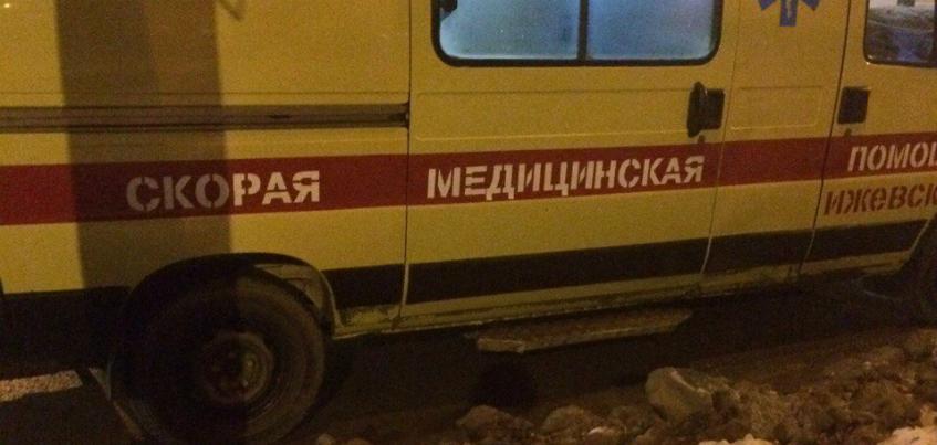 В Ижевске водитель автобуса 2 метра проволок девушку по тротуару