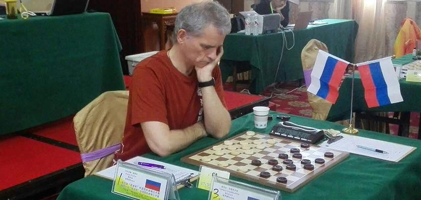 Ижевчанин Алексей Чижов стал победителем турнира по международным шашкам Lishui Open -2016