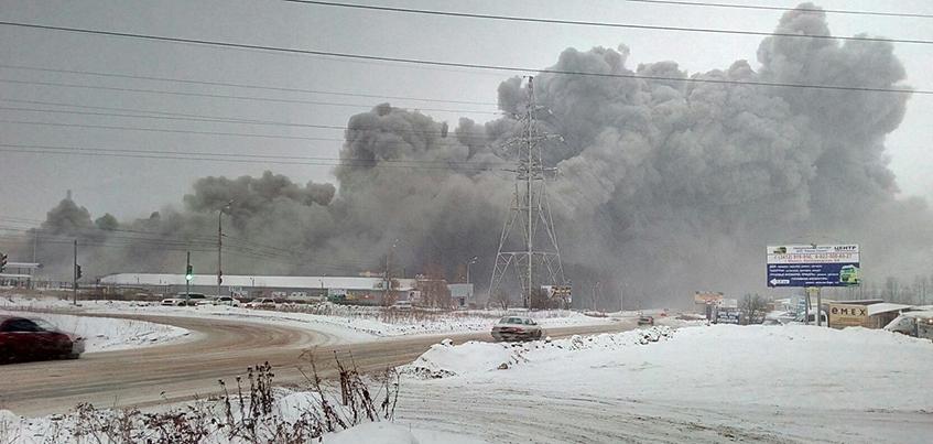 5 человек пострадали в результате пожара в Ижевске