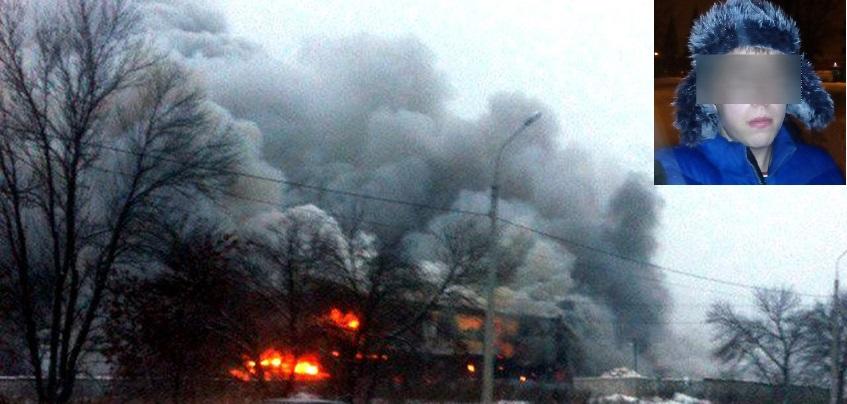 Пожар на складе в Ижевске: работники склада из-за дыма бежали вслепую