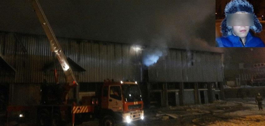 Пожар на складе в Ижевске: погибший был единственной опорой семьи