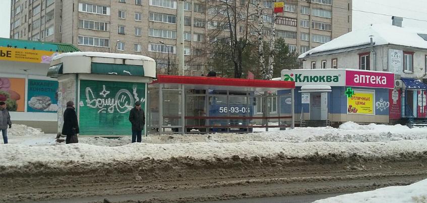 На улице Авангардной в Ижевске поставили новый остановочный комплекс