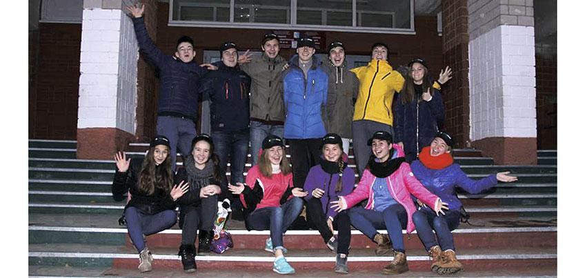 ООО ГК «Спецстрой» помогли ученикам школы №84 отправиться в спортивный лагерь