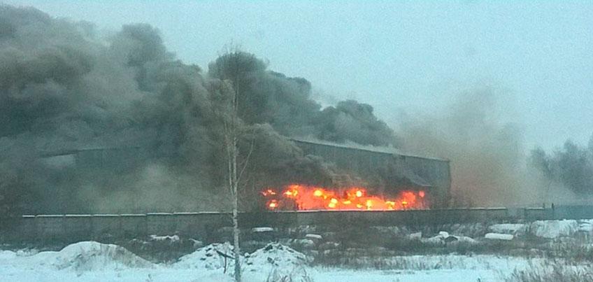 Пожар на складе в Ижевске: убытки магазина составили 72 миллиона рублей