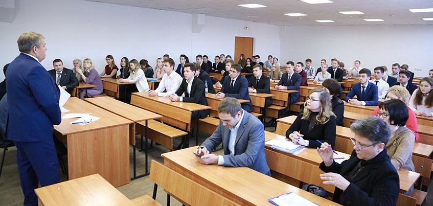 Представители АО «Транснефть – Прикамье» встретились со студентами-контрактниками УГНТУ