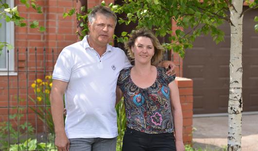 Семья из Украины, спасаясь от артобстрелов, приехала к родственникам в Ижевск