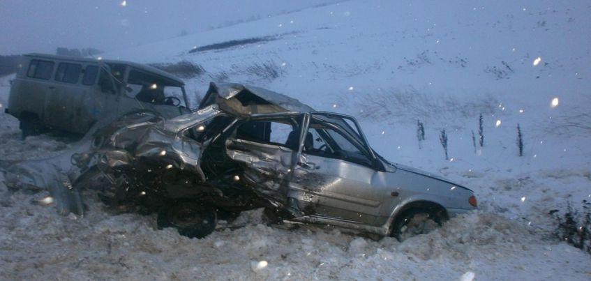 В  Балезинском районе Удмуртии в ДТП  погиб молодой человек
