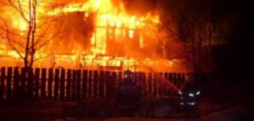 В Ижевске сгорела круглосуточная сауна «Лагуна»