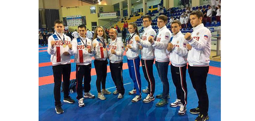 Каратисты из Удмуртии заработали 7 медалей на первенстве Европы