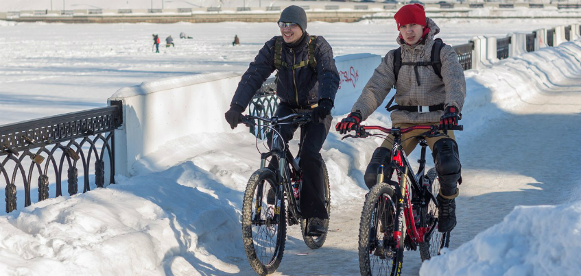 В январе в Ижевске пройдет очередной зимний велопарад