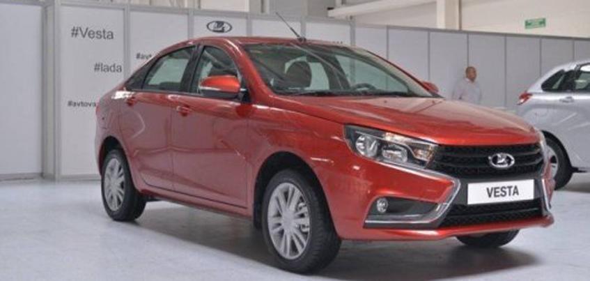 У машин марки «Lada» резко возросло количество продаж
