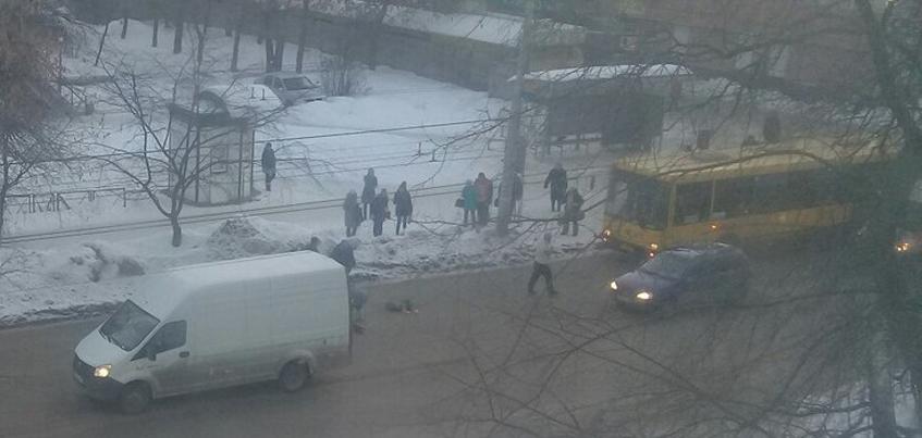 В Ижевске на улице Дзержинского сбили ребенка