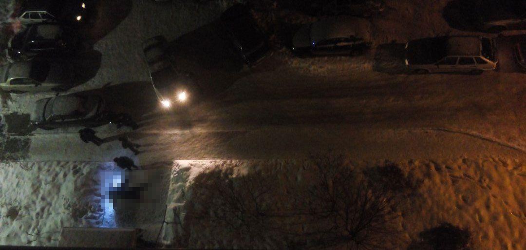 В Ижевске на улице Сабурова обнаружили труп мужчины