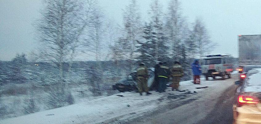 В Удмуртии в ДТП с маршруткой погиб один человек