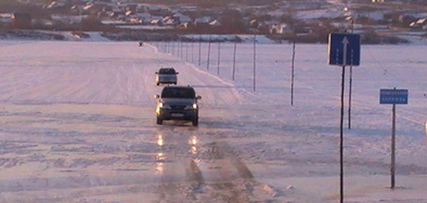 В Удмуртии этой зимой откроют  только две переправы через Каму