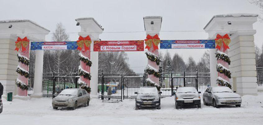 23 декабря в Парке Кирова в Ижевске откроют новогоднюю елку
