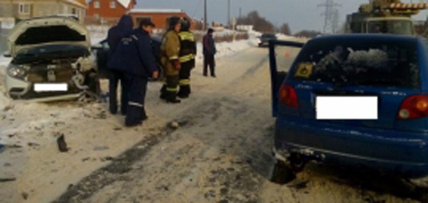 В Удмуртии в ДТП погиб водитель «Daewoo Matiz»