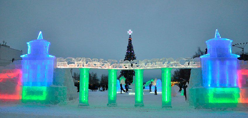 Световая конструкция и Луна-парк: что откроется на Центральной площади Ижевска перед Новым годом