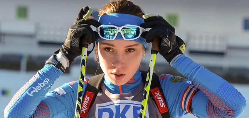 Ульяна Кайшева одержала победу в гонке преследования на континентальном кубке