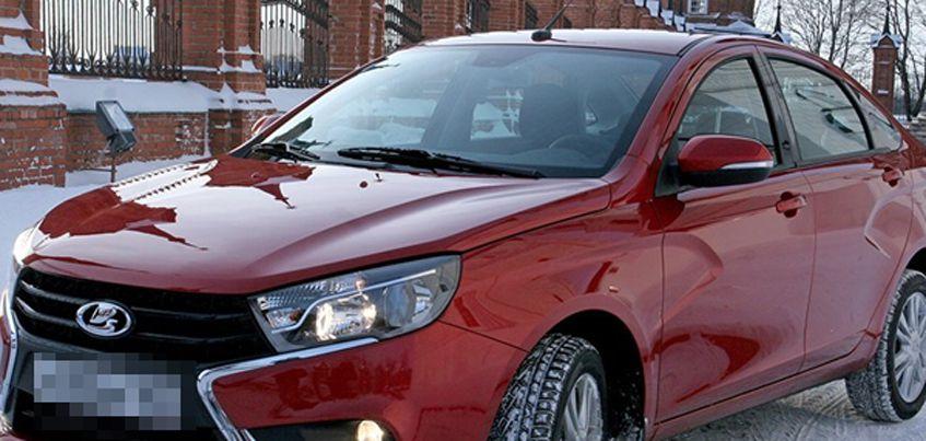 Европейская версия Ижевской Lada Vesta обзаведется новой приборной панелью