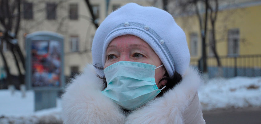За неделю в Удмуртии почти 13 тысяч человек заболели ОРВИ
