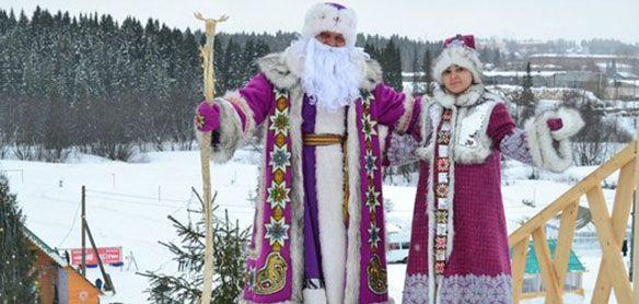 Тол Бабай и Лымы-ныл погасят в Ижевске новогоднюю марку