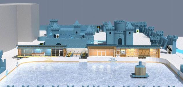 В новом ледовом городке Ижевска «Сказбурге» появится самая высокая снежная башня в мире