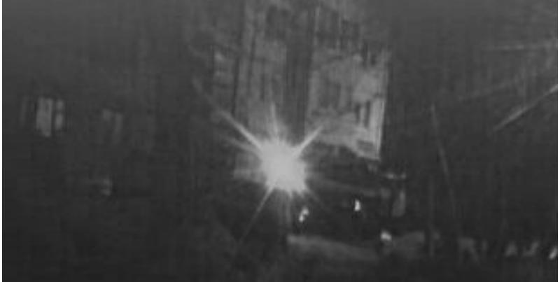 На улице Ворошилова в Ижевске загорелся легковой автомобиль