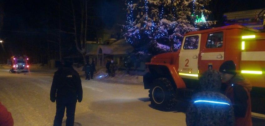 В Ижевске в парке Кирова произошло возгорание кафе
