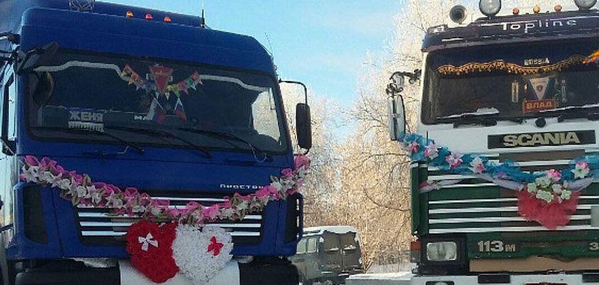 Свадьба на грузовиках и похолодание до -33°С:  о чем этим утром говорит Ижевск