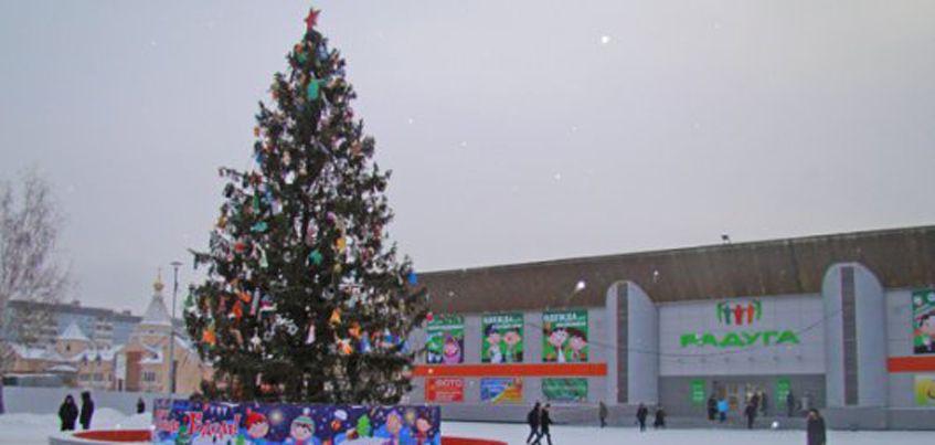 23 декабря в Первомайском районе Ижевска откроют новогоднюю елку