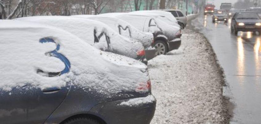 Сегодня из-за выпавшего снега в Ижевске возможны пробки на дорогах