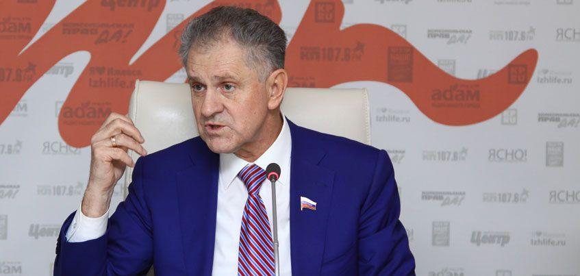 Сенатор от Удмуртии: Из 50 млрд рублей на строительство школ выделено лишь 25