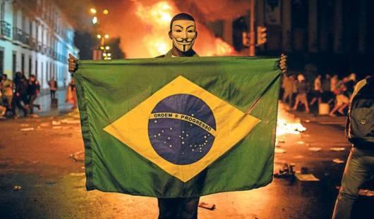 ЧМ-2014: по крупным городам Бразилии прокатилась волна протестов против чемпионата мира