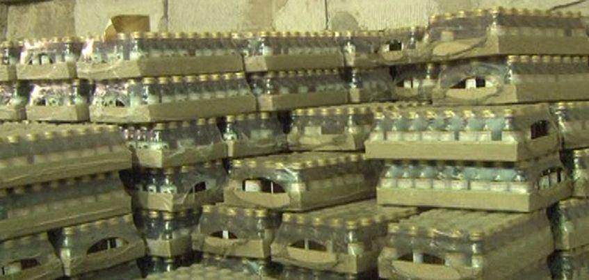 В Ижевске полиция нашла 35 000 бутылочек со спиртовыми лосьонами