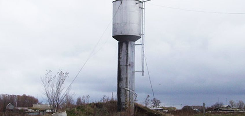 В Ижевске обрушилась водонапорная башня