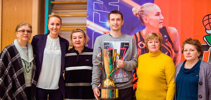 В Ижевске побывал Кубок России по баскетболу