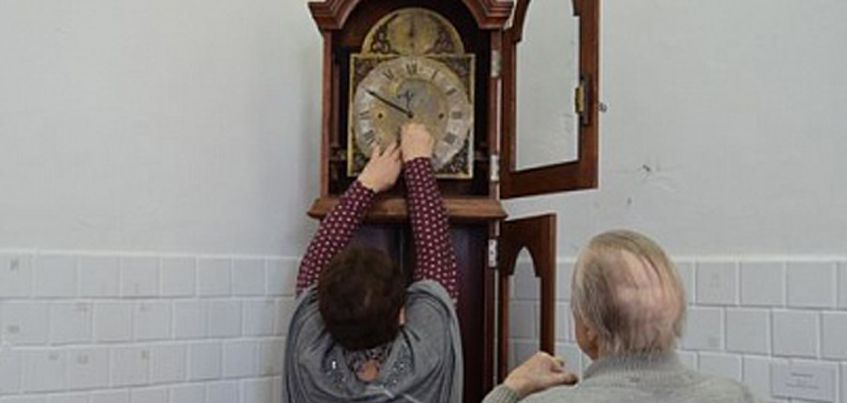 В Генеральском доме Ижевска появились старинные напольные часы