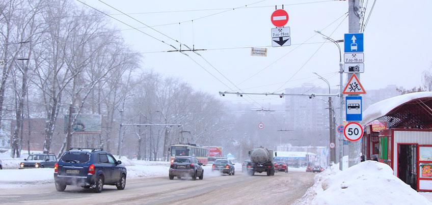 В Ижевске на улице Кирова уберут часть «выделенки»